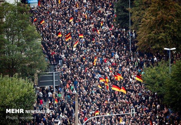 جرمنی میں نوجوان کی ہلاکت کے بعد مہاجرین مخالف مظاہروں کا خطرہ