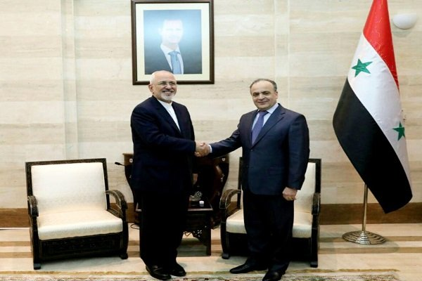 FM Zarif expresses Iran's readiness to increase economic coop. with Syria