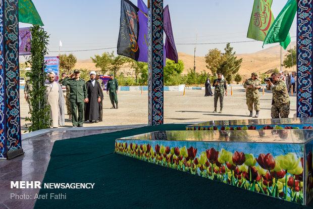 """انطلاق مناورات """"عاشوراء"""" لقوات التعبئة في محافظة البرز وسط ايران"""