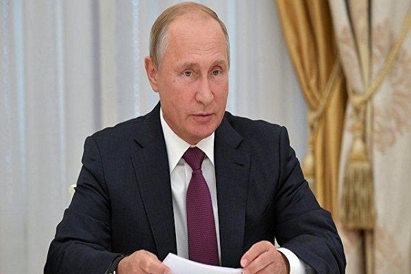 پوتین: بخش اعظم اراضی سوریه از لوثتروریسم آزاد شده است