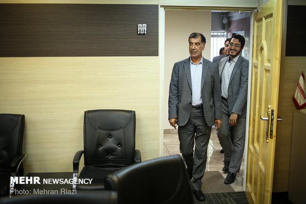 Principalist Mohammad-Reza Bahonar visits MNA HQ