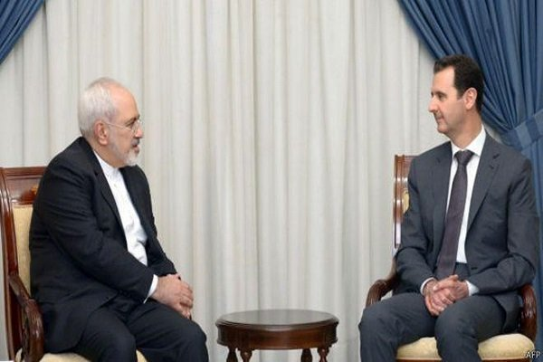 Zarif, Assad stress expanding ties in Syria reconstruction period