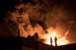 آتش سوزی در موزه ملی برزیل