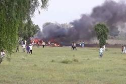 سقوط جنگنده هندی در «هیماچال پرادش»/خلبان کشته شد
