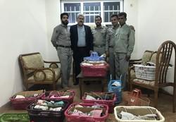 کشف بزرگترین محموله چند دهه اخیر قاچاق پرنده در بوشهر