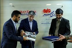 حضور هیات رسانه ای خبرگزاری آناتولی در خبرگزاری مهر