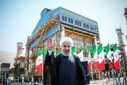 افتتاح سه طرح مهم صنعتی با حضور رئیس جمهور