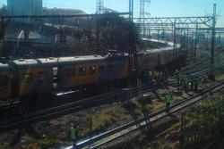 جنوبی افریقہ میں دو ٹرینوں میں تصادم / 100 افراد زخمی