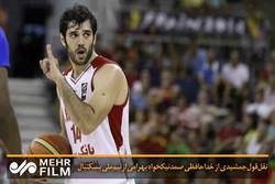 نقل قولجمشیدی از خداحافظی صمد نیکخواه بهرامی از تیم ملی بسکتبال
