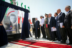 President Rouhani inaugurated third phase of developing Pardis Petrochemical Company in Assaluyeh on Tuesday