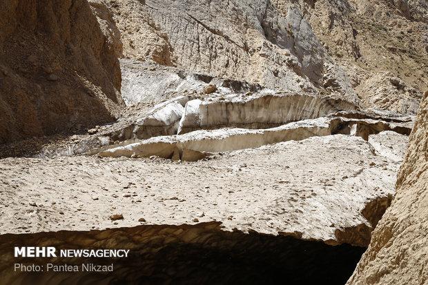 Chama ice cave falls, kills one