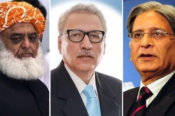 پاکستان میں صدارتی انتخابات کے لئےقومی و صوبائي  اسمبلیوں ميں پولنگ جاری