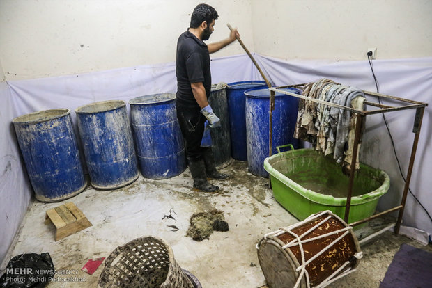 کارگاه دمام سازی احمد