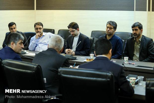 Anadolu media delegation visits MNA HQ