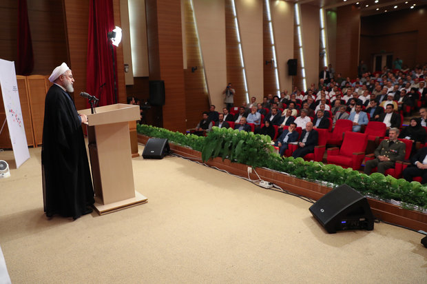 Petrochemicals at forefront of countering sanctions: Rouhani
