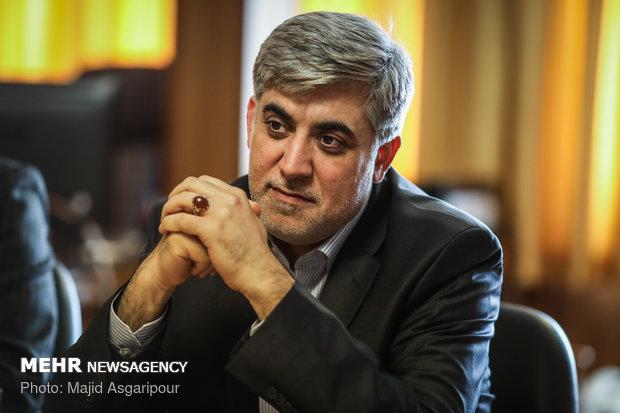 دیدار مدیر عامل خبرگزاری آذرتاج و خبرگزاری مهر