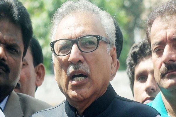 پاکستانی صدر کے خلاف دائر درخواست سماعت کے لیے منظور