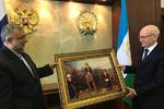 رئیس سازمان فرهنگ و ارتباطات با رئیس جمهور باشقیرستان دیدار کرد