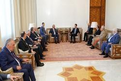 تاکید رؤسای جمهوری سوریه و آبخازیا بر تقویت روابط دوجانبه