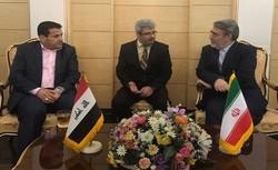 وزير الداخلية العراقي يستقبل نظيره الايراني في مطار بغداد الدولي
