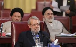 حضور لاریجانی در اجلاسیه خبرگان/گزارش رئیس مجلس درباره مسائل کشور