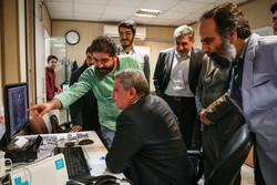 حضور رئیس شورای شهر تهران در خبرگزاری مهر