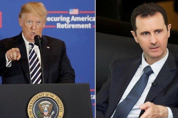 امریکی صدر ڈونلڈ ٹرمپ کا شام کے صدر بشار اسد کو قتل کرنے کا حکم