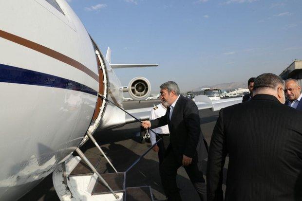 Iran interior min. flies to Baghdad for security talks