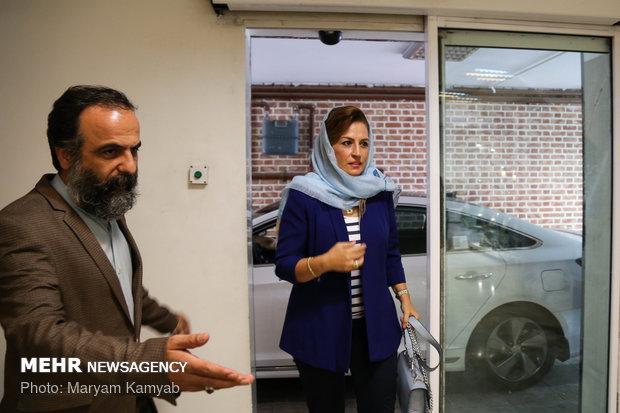 زيارة مديرة الوكالة الوطنية للاعلام البنانية لور سليمان والصحافية ريما يوسف الى مقر وكالة مهر للأنباء في طهران