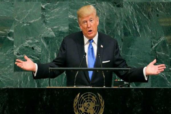 كلمة الرئيس الأمريكي دونالد ترامب بالأمم المتحدة
