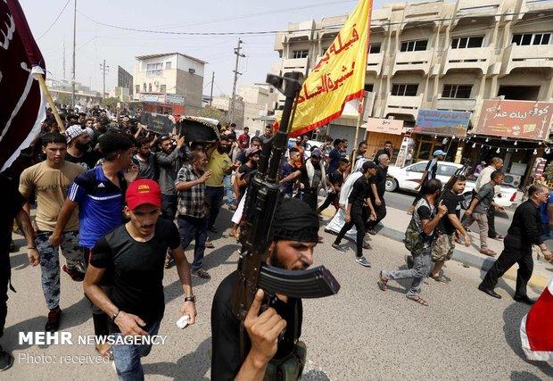 درگیری ها در شهر بصره عراق