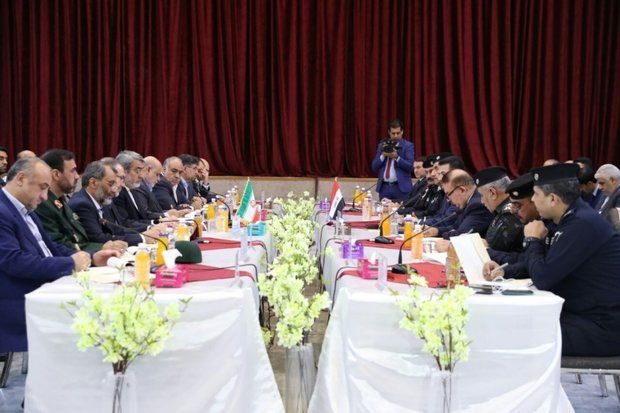 Iran, Iraq high-ranking delegations meet in Baghdad