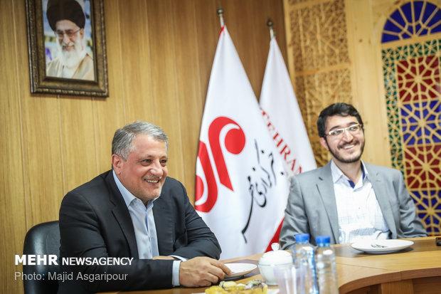 Tehran City Council head visits MNA HQ