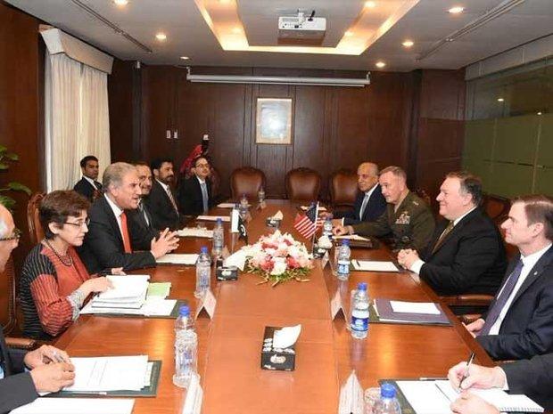 پاکستان اور امریکہ کے وزراء خارجہ کی ملاقات