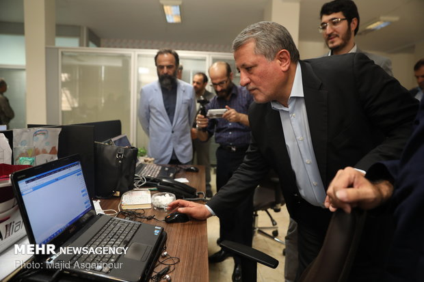 Tehran City Council head visits MNA HQ