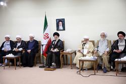 İslam İnkılabı Lideri'nin bugünkü görüşmesinden kareler