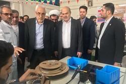 افتتاح خط تولید موتور پیشرفته الکتریکی مغناطیس