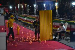 المسابقات العملية لرجال الأطفاء في البلاد/صور