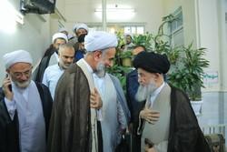 دیدار رییس سازمان اوقاف با آیت الله علوی گرگانی