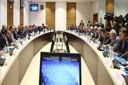 اجتماع اللجنة البرلمانية المشتركة بين ايران وروسيا في موسكو