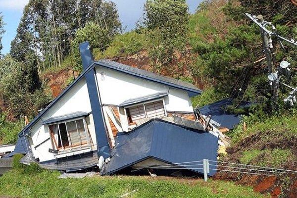 جاپان کے جزیرے وکائیڈو میں  7۔6 کی شدت کا زلزلہ/ 10 افراد زخمی