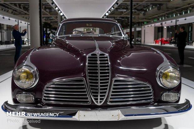 نمایشگاه خودروهای کلاسیک در سوئیس