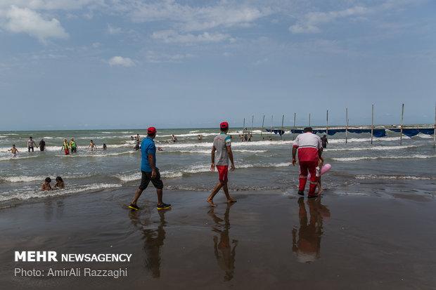 دریای مازندران ۴۰ غریق داشت