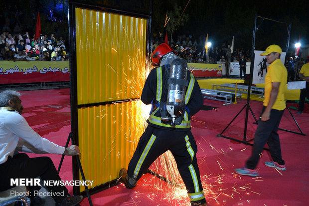 مسابقات عملیاتی آتشنشانهای کشور