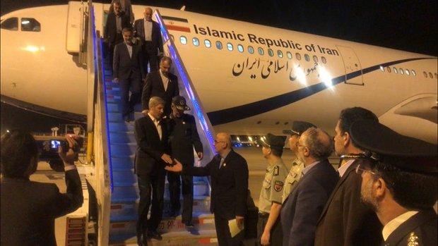وزير الدفاع الإيراني يصل إلى بكين