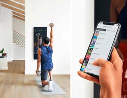 آینه ای که در خانه با شما ورزش می کند