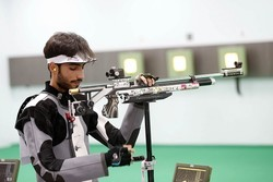 Iranian shooter collects another silver in World Shooting C'ships