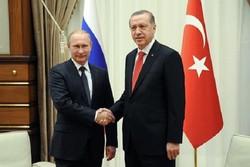 Putin, Erdoğan hold meeting in Tehran
