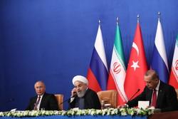 ایران، روس اور ترکی کی صدور کی مشترکہ پریس کانفرنس
