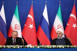 Putin hails Tehran summit as a friendly environment for peace in Syria